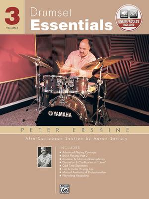 Drumset Essentials, Vol 3: Book & CD - Erskine, Peter