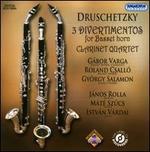 Druschetzky: 3 Divertimentos for Basset Horn; Clarinet Quartet - Gábor Varga (clarinet); Gábor Varga (basset horn); György Salamon (basset horn); István Várdai (cello); János Rolla (violin);...