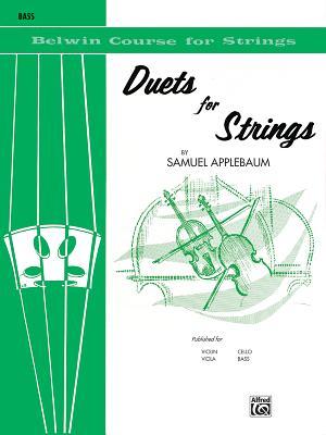 Duets for Strings, Bk 1: Bass - Applebaum, Samuel