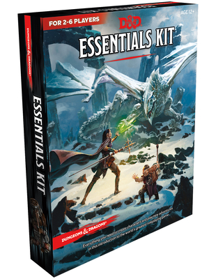 Dungeons & Dragons Essentials Kit (D&d Boxed Set) - Wizards RPG Team