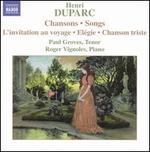 Duparc: Chansons