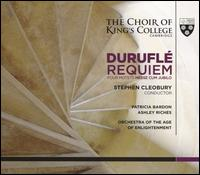 Duruflé: Requiem; Four Motets; Messe Cum Jubilo - Ashley Riches (bass baritone); Patricia Bardon (mezzo-soprano); Richard Gowers (organ); Tom Etheridge (organ);...