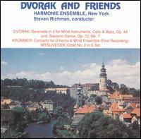 Dvorák & Friends - Charles Kavalovski (horn); E. Scott Brubaker (horn); Harmonie Ensemble New York; Steven Richman (conductor)