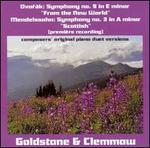 "Dvor�k: Symphony No. 9 ""From the New World""; Mendelssohn: Symphony No. 3 ""Scottish"""