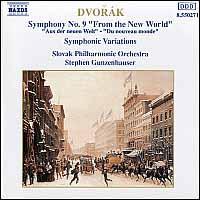 "Dvorák: Symphony No. 9 ""From the New World"" - Slovak Philharmonic Orchestra; Stephen Gunzenhauser (conductor)"