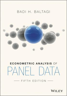 Econometric Analysis of Panel Data - Baltagi, Badi H.
