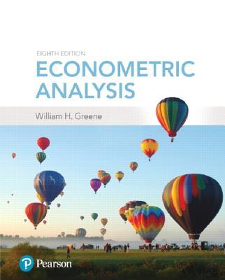 Econometric Analysis - Greene, William H