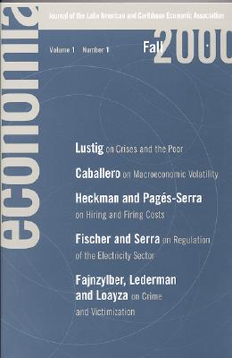 Economia: Fall 2000: Journal of the Latin American and Caribbean Economic Assocation - Velasco, Andres (Editor)