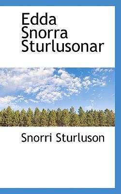 Edda Snorra Sturlusonar - Sturluson, Snorri