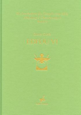 Edfou VI - Woodhouse, Susanne (Editor)