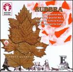 Edmund Rubbra: String Quartets Nos. 1 & 3; Sonata for Cello & Piano; Improvisation for Cello
