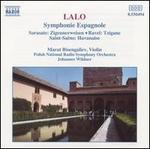 Edouard Lalo: Symphonie Espagnole; Pablo Sarasate: Zigeunerweisen; Ravel: Tzigane; Camille Saint-Sa?ns: Havanaise