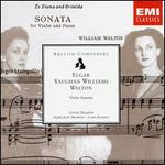 Edward Elgar, Ralph Vaughan Williams, William Walton: Violin Sonatas