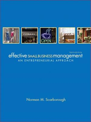 Effective Small Business Management - Scarborough, Norman M.