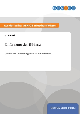 Einfuhrung Der E-Bilanz - Kaindl, A
