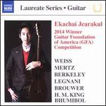 Ekachai Jearakul: 2014 Winner Guitar Foundation of American (GFA) Competition