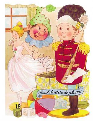 El Soldadito de Plomo - Ruiz, Margarita (Illustrator), and Capellades, Enriqueta (Adapted by), and Gatell, Angelina (Adapted by)