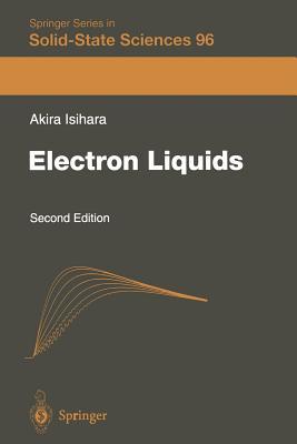 Electron Liquids - Isihara, Akira
