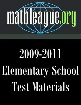 Elementary School Test Materials 2009-2011 - Sanders, Tim