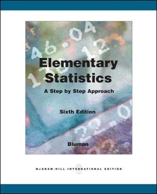Elementary Statistics with MathZone - Bluman, Allan G.