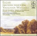 Elgar: Enigma Variations; Serenade for Strings; Vaughan Williams The Lark Ascending; Fantasia on Greensleeves; Fantas