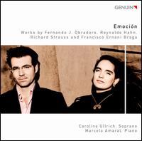 Emoción - Carolina Ullrich (soprano); Marcelo Amaral (piano)