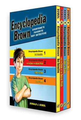 Encyclopedia Brown Box Set (4 Books) - Sobol, Donald J