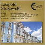"Enescu: Romanian Rhapsody No. 1; Arnold: Comedy Overture ""Beckus the Dandipratt""; Glière: Concerto for Coloratura Sop"