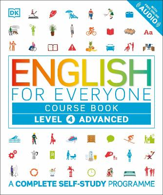 English for Everyone Course Book Level 4 Advanced: A Complete Self-Study Programme - DK