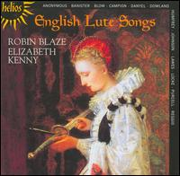 English Lute Songs - Elizabeth Kenny (lute); Robin Blaze (counter tenor)