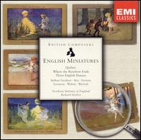 English Miniatures - Royal Northern Sinfonia; Richard Hickox (conductor)