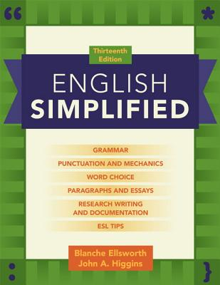 English Simplified - Ellsworth, Blanche, and Higgins, John A.