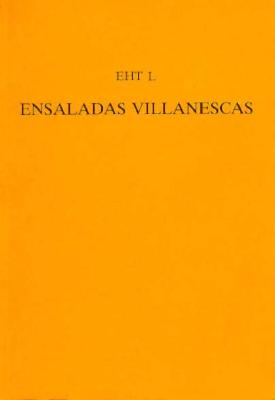'ensaladas Villanescas' from the 'romancero Nuevo' - Gornall, John