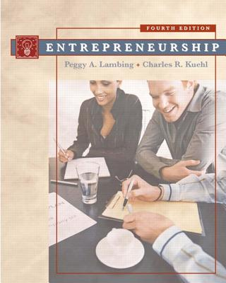 Entrepreneurship - Lambing, Peggy A, and Kuehl, Charles R