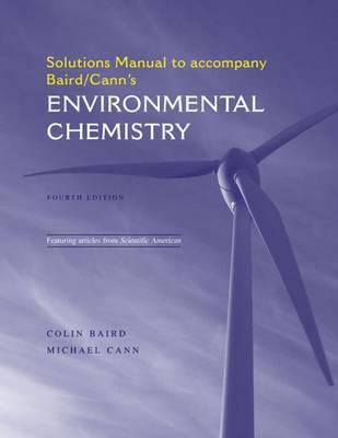 environmental chemistry solutions manual book by colin baird rh alibris com Teaching Textbooks Solution Manuals Book