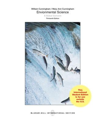 Environmental Science: A Global Concern - Cunningham, William P., and Cunningham, Mary Ann