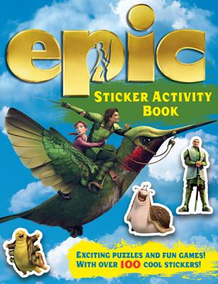 Epic Sticker Activity Book - Carlton, and Regan, Lisa, Ms.