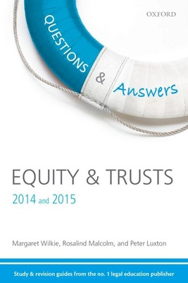 Equity and Trusts - Wilkie, Margaret