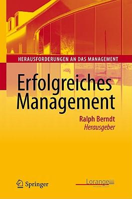 Erfolgreiches Management - Berndt, Ralph (Editor)