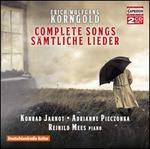 Erich Wolfgang Korngold: Complete Songs (S�mtliche Lieder)