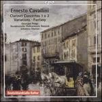 Ernesto Cavallini: Clarinet Concertos 1 & 2; Variations; Fantasy