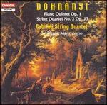 Ernst von Dohnanyi: Piano Quintet; String Quartet No. 2
