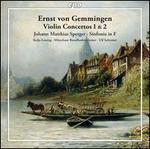 Ernst von Gemmingen: Violin Concertos Nos. 1 & 2