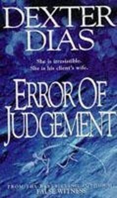 Error of Judgement - Dias, Dexter