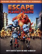 Escape from Planet Earth [4 Discs] [Includes Digital Copy] [UltraViolet] [3D] [Blu-ray/DVD]