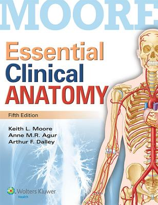 Essential Clinical Anatomy - Moore, Keith L, Dr., Msc, PhD, Fiac, Frsm