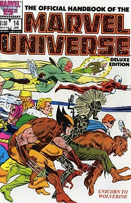 Essential Official Handbook Of The Marvel Universe - Deluxe Edition Volume 3 - Gruenwald, Mark (Text by), and Sanderson, Peter (Text by)