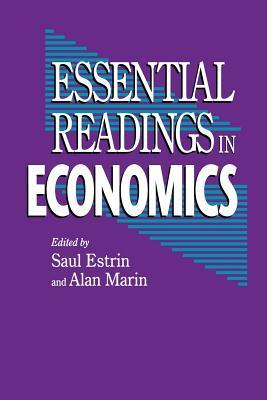 Essential Readings in Economics - Estrin, Saul, and Marin, Alan