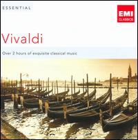 Essential Vivaldi - Adrian Butterfield (violin); André Saint-Clivier (mandolin); Angela East (cello); Anne-Sophie Mutter (violin);...