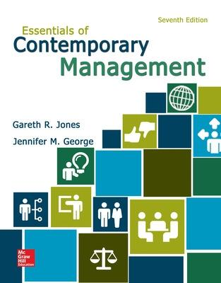 Essentials of Contemporary Management - Jones, Gareth R
